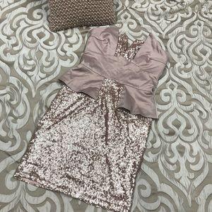 ASOS sequin dress